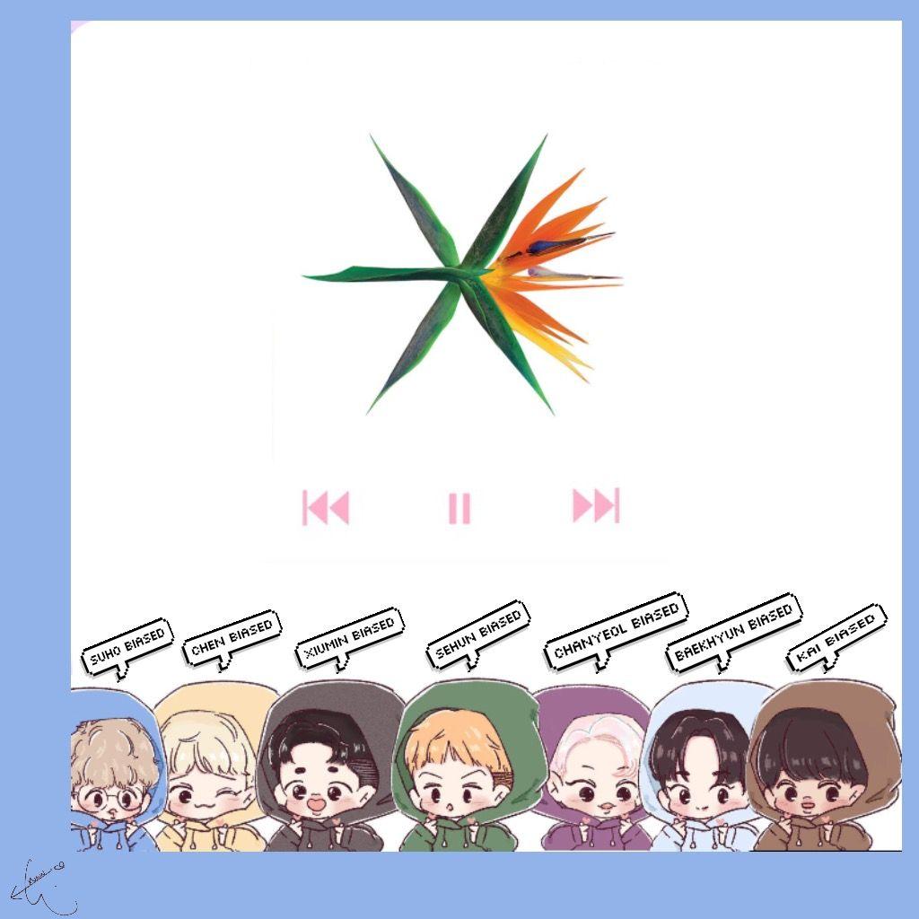 Exo Cute Wallpaper Chen Chanyeol Xiumin Xiumin Exom