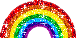 rainbow glitter colors ftestickers stickers