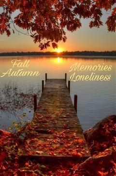 fallseason memories freetoedit loneliness