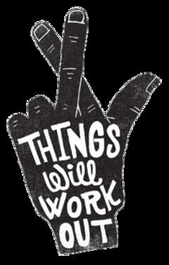 crossedfingers hand quote motivation ftestickers
