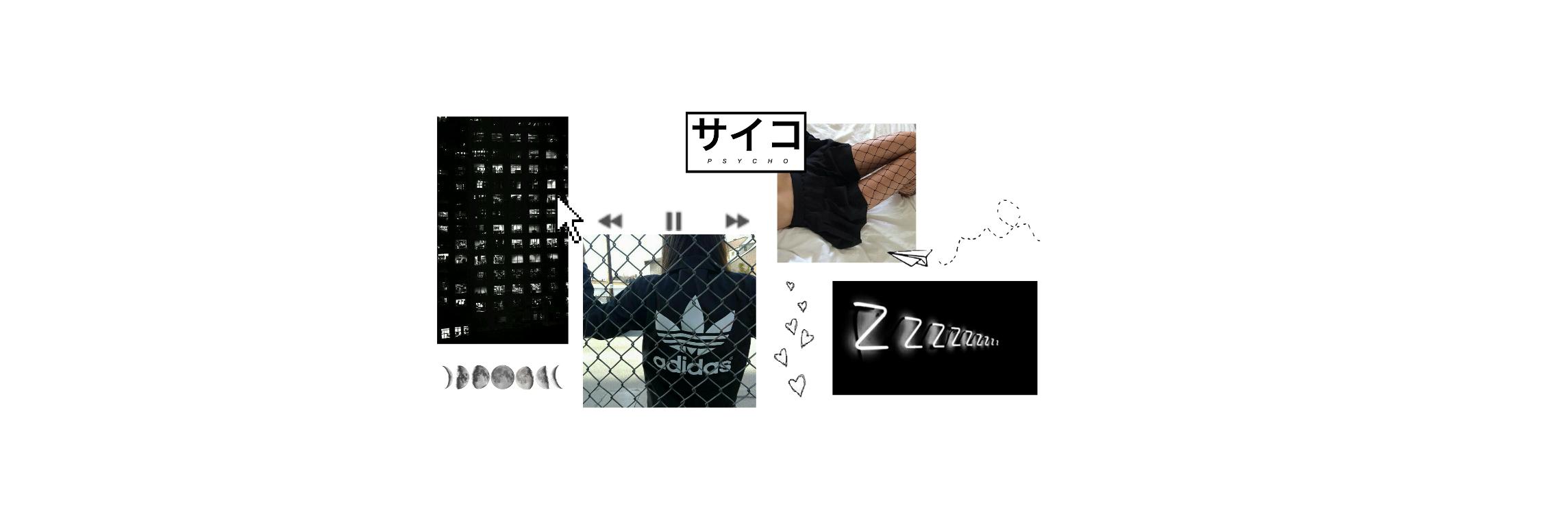 Freetoedit Aesthetic Header Twitterpack Collage Black...