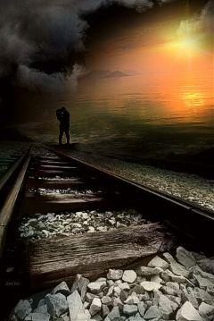freetoedit love traintracks