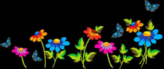 flowers flower butterflies freetoedit ftestickers