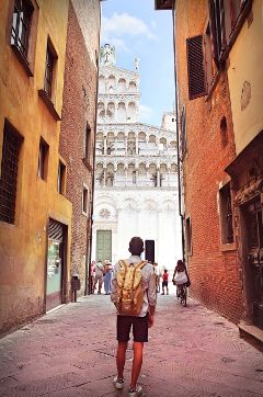 dpchike italy italia discovering lucca
