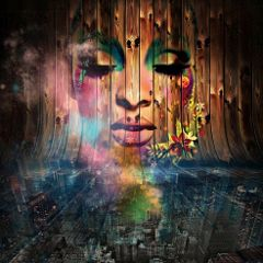 freetoedit city colours woman surreal