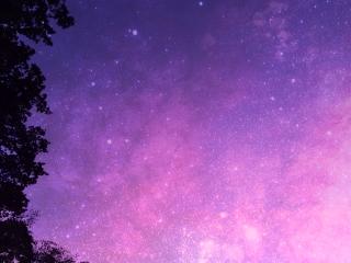 galaxy night beach sky summer