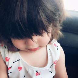 freetoedit cutebaby baby girl by_me