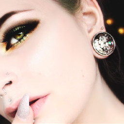 makeup makeupartist greeneyes eyephotography alternativegirl freetoedit