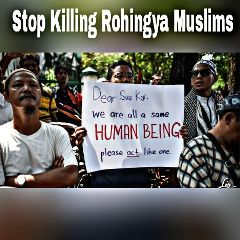 stop killing rohingya muslim important