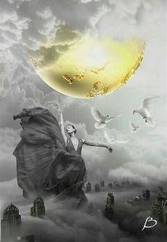 doubleexposure dream peace imagination inspiration freetoedit