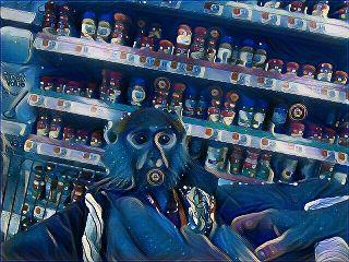 freetoedit monkey grocerystore midnightmagiceffect