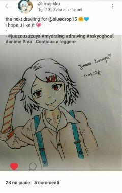 juuzousuzuya iloveit tokyoghoul likeit artist
