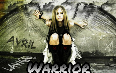 avrillavigne warrior awsome wings