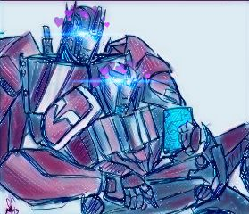 ratchet optimus ratchetxoptimus transformersprime freetoedit