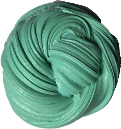Slime swirl. Greenslime blueslime soft followme
