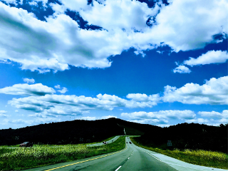 freetoedit photography sky road clouds