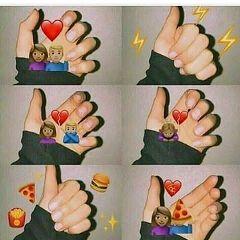 tumblr emoji my pizza girl
