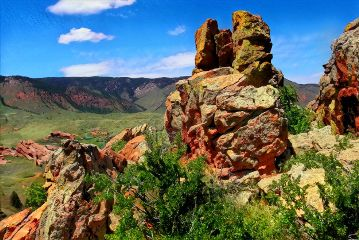 freetoedit nature mountains rockformations colorful