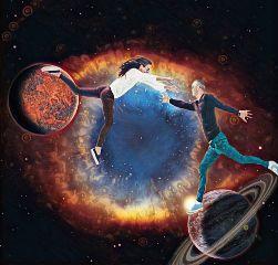 freetoedit space planets jump galaxy