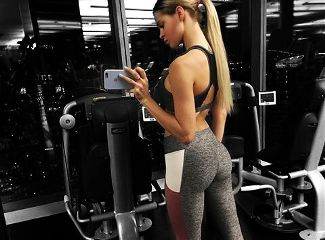blackandwhite fitness russiangirl squad colorful freetoedit