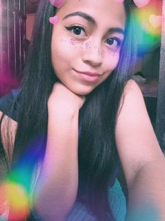 freetoedit girl rainbow arcoiris