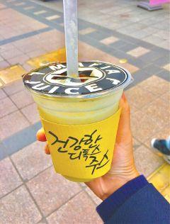 korea mafiajuice juice pineapple freetoedit