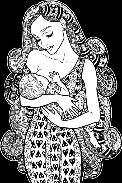 ##drawing #sticker #breastfeeding