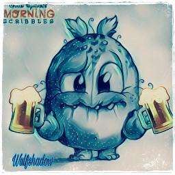 freetoedit morningscribbles octoberfest beer