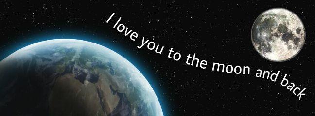 freetoedit love earth moon space