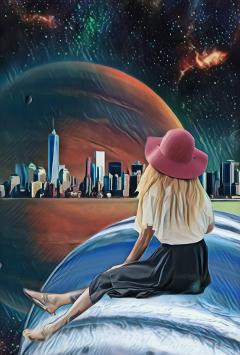 freetoedit space watch planet