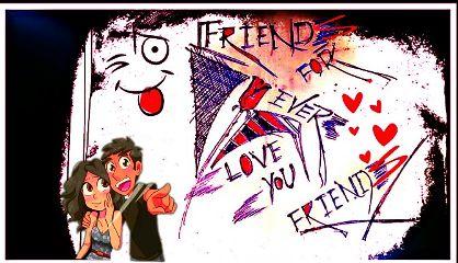 friends bff draw penart emotions freetoedit