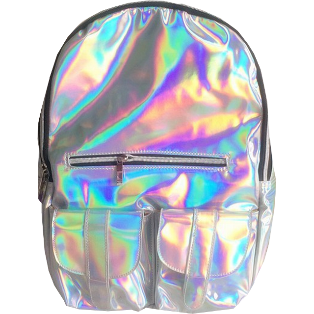 #holographic #backpack #fashion #trendy #cool #ftestickers  #bag #starterpack