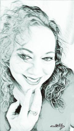 me smile eyes artisticselfie sketchymagiceffect