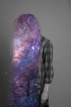 galaxy galaxyhair hair remixit freetoedit