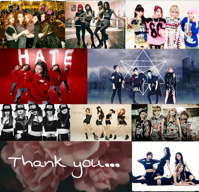 ##2ne1 #missa #4minute #godness #queens #kpop #collage #cute #colorful #emotions #flower
