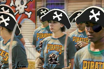 freetoedit pirate piratehat sword teeshirts