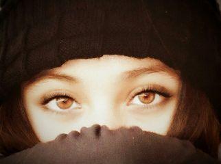 freetoedit eyes sweet girl moment
