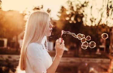 freetoedit bubbles girl people dream