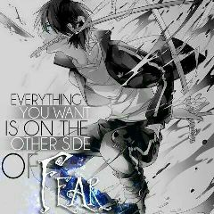 animeboy quote blue cool