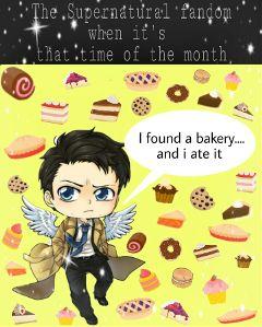 freetoedit supernatural supernaturalfandom funny sweets