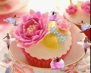 freetoedit pretty eat dance cupcakes