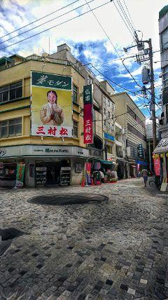 freetoedit urban street hintofyelloweffect