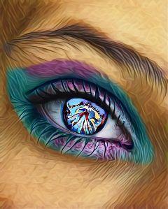 eyeedit freetoedit blueeyes makeup