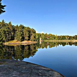 nature sweden summer landscape lake
