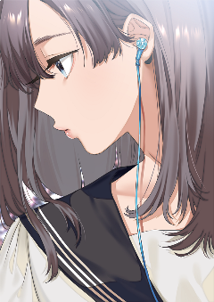 animegirl prettygirl emotions serious cute