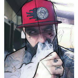 artlife vapelife bearded beardedlife draw freetoedit