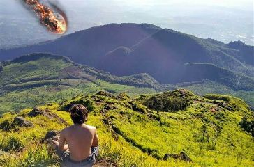 scenery meteor destiny freetoedit