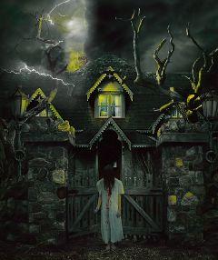 hauntedhouse ughhhhhh freetoedit hauntedhouse