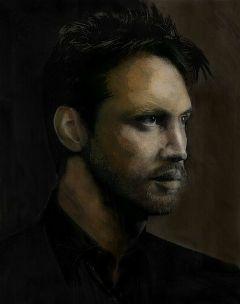 portrait colour sketch shadow