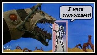 freetoedit opendoorstickerremix beetlejuice sandworms movie